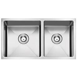 STUFURHOME NW-3319D NATIONALWARE 16-GAUGE STAINLESS STEEL 33-INCH SINGLE BASIN UNDERMOUNT KITCHEN SINK