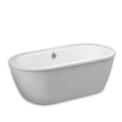 AMERICAN STANDARD 2764.014.011 CADET 66 X 32 INCH ACRYLIC FREESTANDING BATHTUB IN ARCTIC