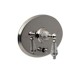 SANTEC 1135LC-TM MONARCH CRYSTAL II PRESSURE BALANCED TUB/SHOWER CONTROL TRIM WITH DIVERTER