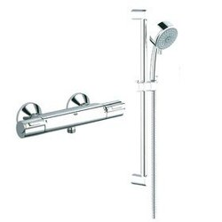 GROHE 122629 GROHTHERM 1000 SINGLE FUNCTION SHOWER KIT