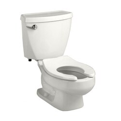 AMERICAN STANDARD 2315.228.020 BABY DEVORO 1.28 GPF FLOWISE 10 INCH HIGH ROUND FRONT TOILET