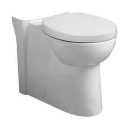 AMERICAN STANDARD 3075.120.020 STUDIO WHITE RIGHT HEIGHT ELONGATED BOWL ONLY WITH TOILET SEAT AND COVER