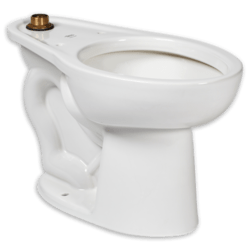 AMERICAN STANDARD 3462.001.020 MADERA WHITE ONE-PIECE ELONGATED TOILET WITH RIGHT HEIGHT BOWL, TOP SPUD
