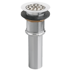 AMERICAN STANDARD 2411.015 COMMERCIAL GRID DRAIN 1-1/4 INCH TAILPIECE WITH OVERFLOW