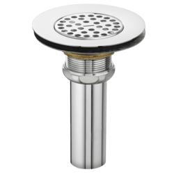 AMERICAN STANDARD 4311.023.002 COMMERCIAL PERFORATED GRID DRAIN FOR 3-1/2 INCH OUTLET SINK WITH 1-1/2 INCH TAILPIECE