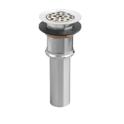AMERICAN STANDARD 7716.020.002 COMMERCIAL UNIVERSAL PERFORATED GRID STRAINER LESS OVERFLOW
