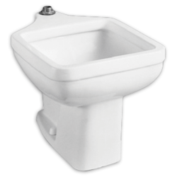 AMERICAN STANDARD 710098-201.081 FLOOR MOUNTED PEDESTAL FOR 9504.999 CLINIC SERVICE SINK, IN WHITE
