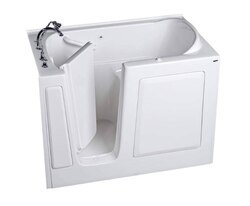 AMERICAN STANDARD 3151.509.A VALUE SERIES 31 X 51 INCH WALK-IN BATH WITH AIR SPA SYSTEM