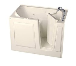 AMERICAN STANDARD 3151.509.C VALUE SERIES 31 X 51 INCH WALK-IN BATH WITH COMBINATION SYSTEM