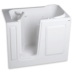 AMERICAN STANDARD 2848.100.C GEL COAT 28 X 48 INCH WALK-IN BATH WITH COMBINATION SYSTEM