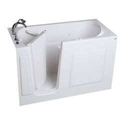 AMERICAN STANDARD 3060.509.C VALUE SERIES 30 X 60 INCH WALK-IN BATH WITH COMBINATION SYSTEM