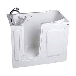 AMERICAN STANDARD 2848.509.S VALUE SERIES ACRYLIC 28 X 48 INCH WALK-IN BATH SOAKING TUB