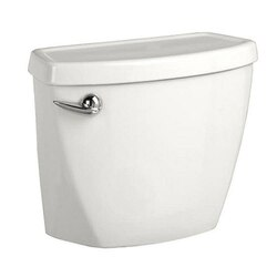 AMERICAN STANDARD 4019.613.020 BABY DEVORO WHITE 1.28 GPF TOILET TANK WITH LOCKING DEVICE