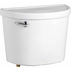 AMERICAN STANDARD 4225A.164.020 CHAMPION PRO 1.28 GPF 12 INCH ROUGH-IN TOILET TANK LEFT HAND TRIP LEVER WITH LOCKING DEVICE