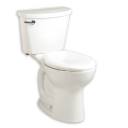 AMERICAN STANDARD 215FA.104 CADET PRO COMPACT RIGHT HEIGHT ELONGATED 1.28 GPF TOILET