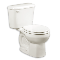 AMERICAN STANDARD 221DB.004 COLONY ROUND FRONT 10 INCH ROUGH-IN 1.6 GPF TOILET