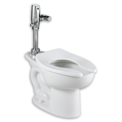 AMERICAN STANDARD 3461.511.020 MADERA 1.1 GPF ONE-PIECE ELONGATED COMFORT HEIGHT TOILET - LESS SEAT, WITH SELECTRONIC FLUSH VALVE AND EVERCLEAN