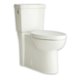 AMERICAN STANDARD 2795.119.020 STUDIO ACTIVATE CONCEALED TRAPWAY RIGHT HEIGHT ROUND FRONT TOILET, 1.28 GPF