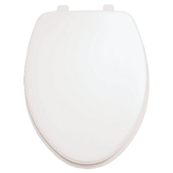 AMERICAN STANDARD 5311.012.020 LAUREL MOLDED WOOD ELONGATED TOILET SEAT AND COVER IN WHITE