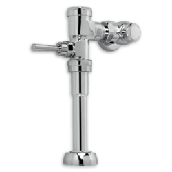AMERICAN STANDARD 6045.601.002 EXPOSED MANUAL FLUSHOMETER FOR 1-1/4 INCH TOP SPUD URINALS, 1.0 GPF