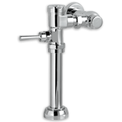 AMERICAN STANDARD 6047.121.002 EXPOSED MANUAL TOP SPUD TOILET 1.28 GPF FLUSH VALVE FOR 1-1/2 INCH TOP SPUD BOWLS