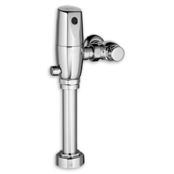 AMERICAN STANDARD 6065.721.002 EXPOSED SELECTRONIC SENCOR-OPERATED DUAL FLUSH VALVE, 1.28/1.1 GPF FOR TOP SPUD BOWLS