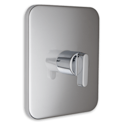 AMERICAN STANDARD T506.730.002 MOMENTS CENTRAL THERMOSTATIC MIXING VALVE TRIM AND CARTRIDGE IN CHROME