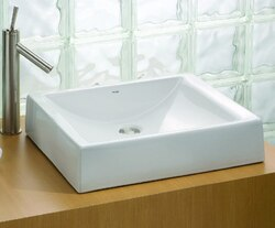 CHEVIOT 1600-WH 19-3/4 INCH PACIFIC VESSEL SINK IN WHITE