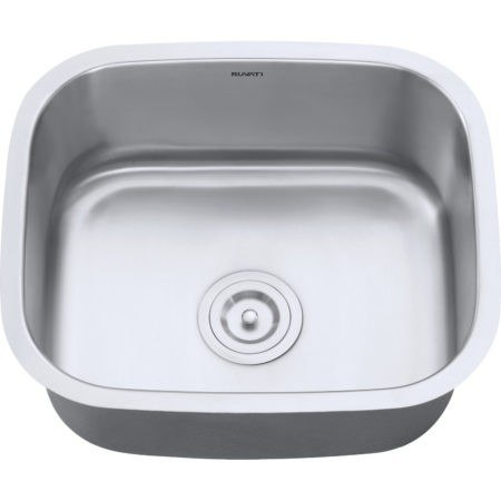 Ruvati RVM4131 Undermount 21 Inch Kitchen Sink 16 Gauge Stainless Steel