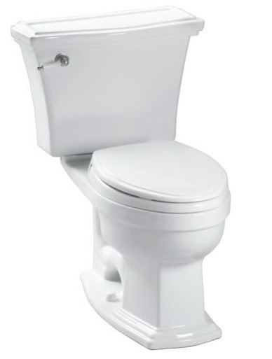 TOTO CST784EF ECO CLAYTON TWO PIECE ELONGATED 1.28 GPF TOILET WITH E-MAX FLUSH SYSTEM