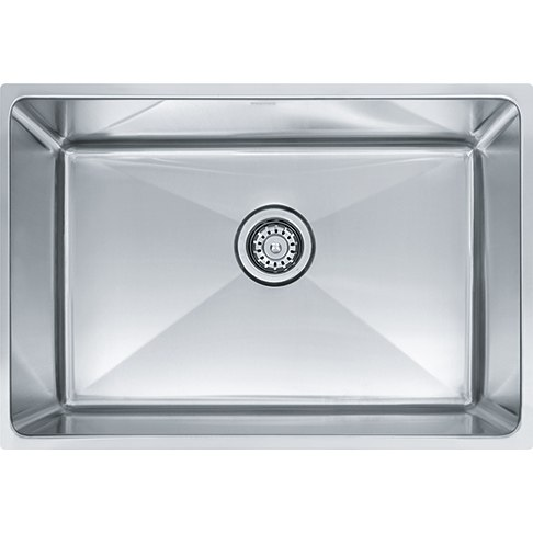 Franke PSX1102412 25 Inch 'Professional Series' Undermount Single Bowl Stainless Steel Sink w/ 12 Inch Bowl Depth
