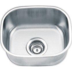 Yosemite Home Décor MAG1512PS 15 Inch Undermount Kitchen/Bar Sink - Pearl Satin