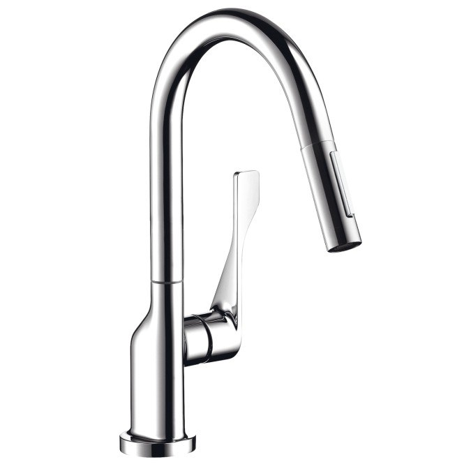 Hansgrohe 39835 Axor Citterio Pull-Down Kitchen Faucet