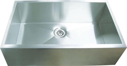 Yosemite Home Décor MAGS3320SAP 31 Inch Apron Front Single Bowl Kitchen Sink