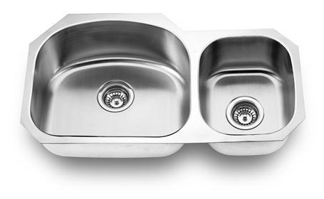 Yosemite Home Décor MAG501 31 Inch Undermount Double Bowl Kitchen Sink