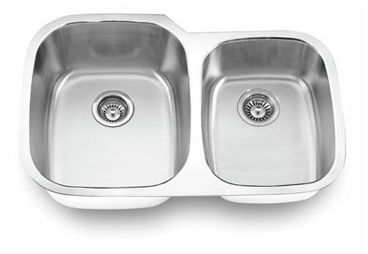 Yosemite Home Décor MAG503 32 Inch Undermount Double Bowl Kitchen Sink