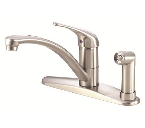 Danze D405612SS Melrose Single Handle Kitchen Faucet w/ Spray Product Stainless Steel