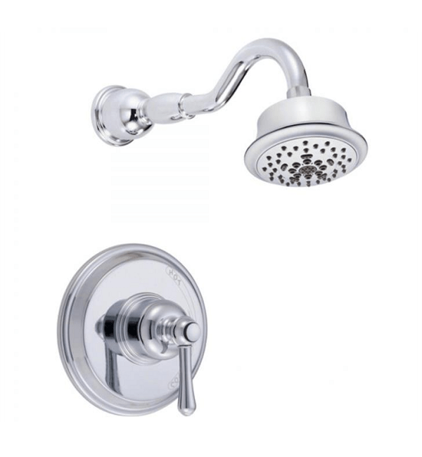 DANZE D512657TC OPULENCE SHOWER TRIM KIT WITH 5-FUNCTION SHOWERHEAD, 2.0 GPM