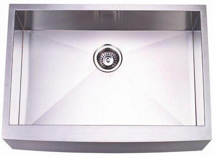 Kingston Brass KUF302110BN Gourmetier Stainless Steel Single Bowl FArm house Kitchen Sink