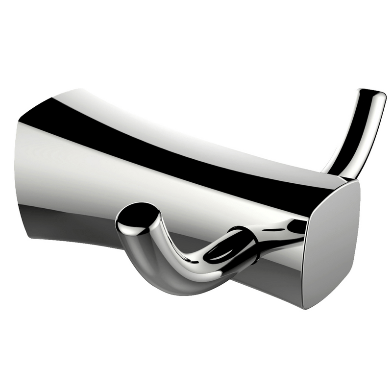 AMERICAN IMAGINATIONS AI-3046 4 1/8 INCH W RECTANGLE STAINLESS STEEL ROBE HOOK IN CHROME COLOR