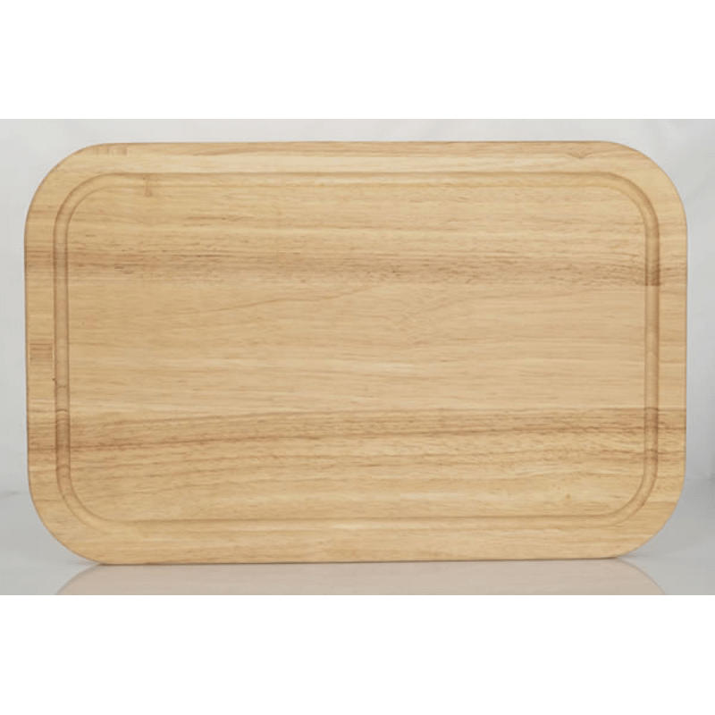 AMERICAN IMAGINATIONS AI-34435 13 INCH W SOLID WOOD KITCHEN CUTTING BOARD IN OAK COLOR