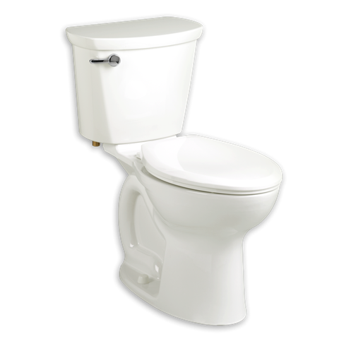 American Standard 215BB.104 Cadet PRO Right Height Round Front 10 Inch Rough-In 1.28 GPF Toilet
