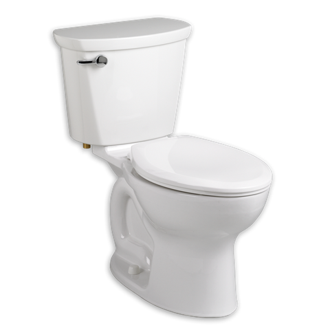 AMERICAN STANDARD 215CB.104 CADET PRO ELONGATED 10 INCH ROUGH-IN 1.28 GPF TOILET
