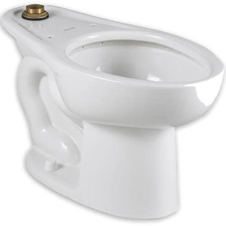 White American Standard 2858.016.020 Madera 1.6 GPF Elongated Toilet with Manual Flush Valve