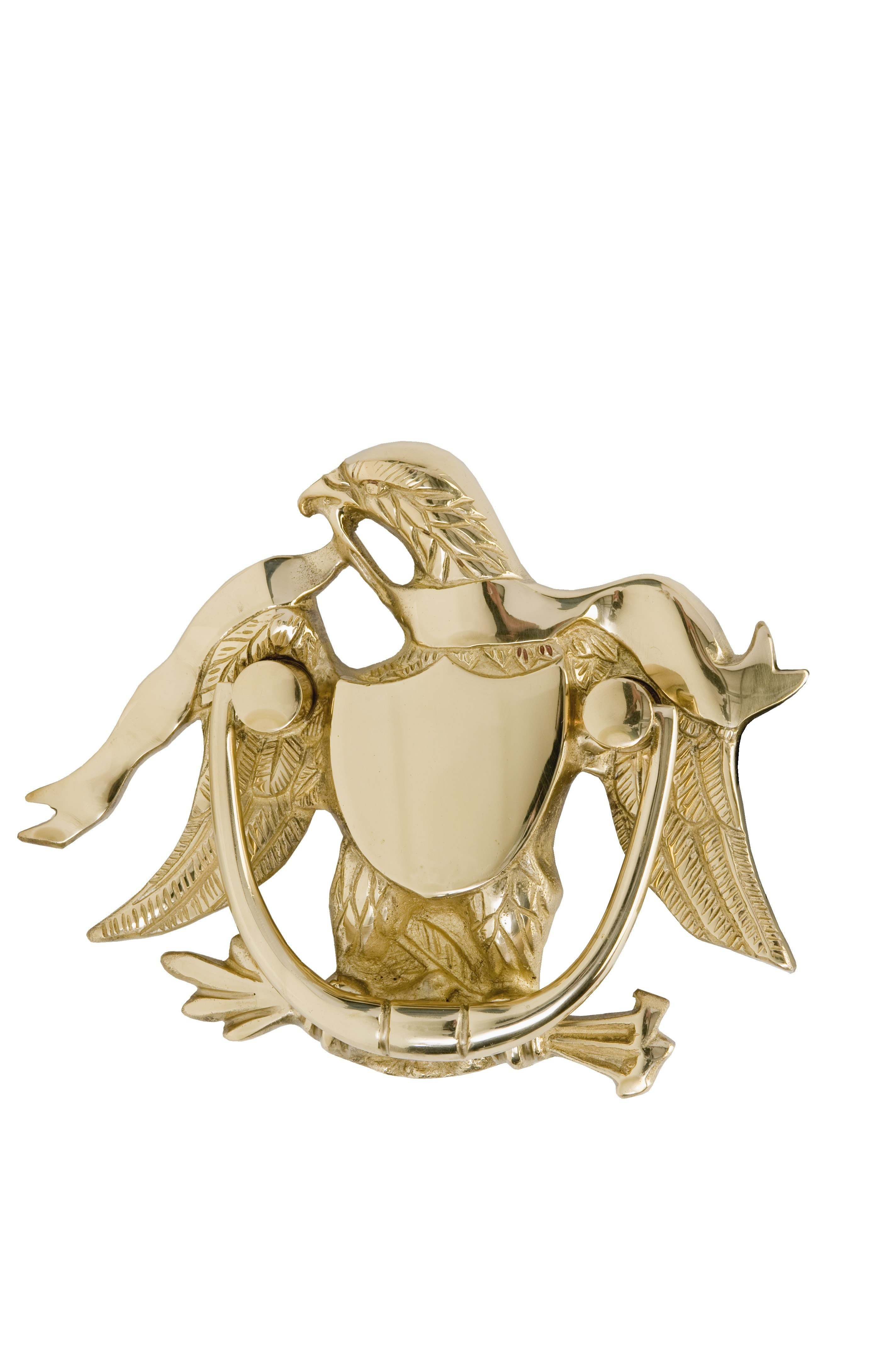 BRASS Accents A04-K2000 Eagle Door Knocker 5-7/8 Inches