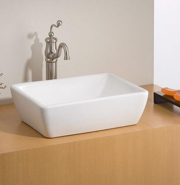 bathroom washroom sink small oval sink small rectangular