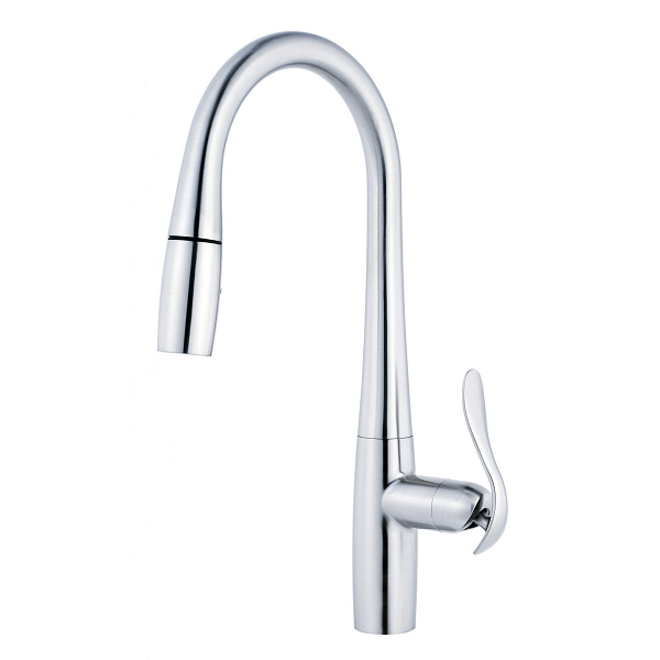 DANZE D454411 SELENE SINGLE HANDLE PULL-DOWN KITCHEN FAUCET WITH MAGNETIC DOCKING, 1.75  GPM