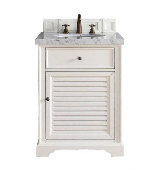 James Martin 238 104 V26 Cwh Savannah 26 Inch Single Vanity Cabinet In Cottage White 238 104 V26 Cwh 238104v26cwh