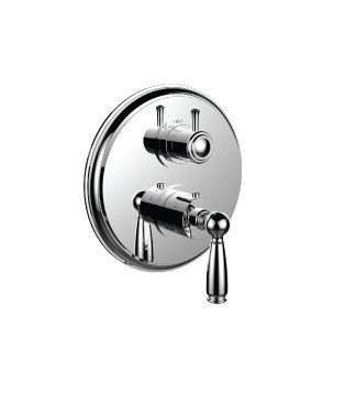 SANTEC 7098EY-TM VANTAGE II 1/2 INCH THERMOSTATIC TRIM WITH 3-WAY DIVERTER TRIM (SHARED FUNCTION)