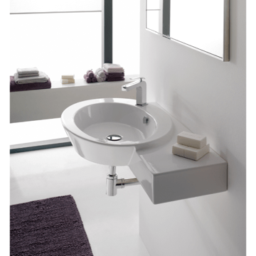 SCARABEO 2011 WISH 34.4 INCHES BATHROOM SINK